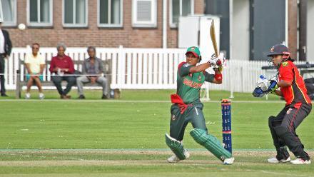 Match 4: Bangladesh Women v Papua New Guinea Women, Group A, ICC Women's World Twenty20 Qualifier at VRA Ground, 7th July 2018.