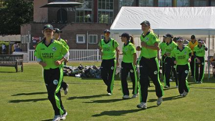 Match 6: Scotland Women v Ireland Women, Group B, ICC Women's World Twenty20 Qualifier at VRA Ground, 8th July 2018.