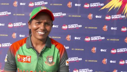 WT20Q - Bangladesh v Papua New Guinea post-match interviews