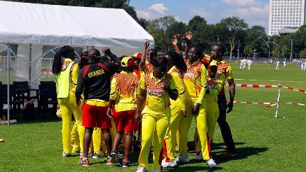 Match 5: Uganda Women v Thailand Women, Group B, ICC Women's World Twenty20 Qualifier at Utrecht, 8th July 2018.