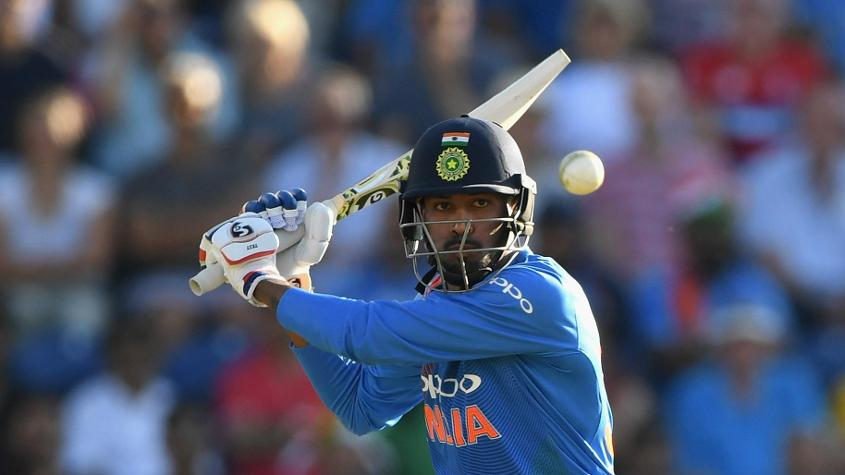 Hardik Pandya received special praise from his captain after his display in Bristol