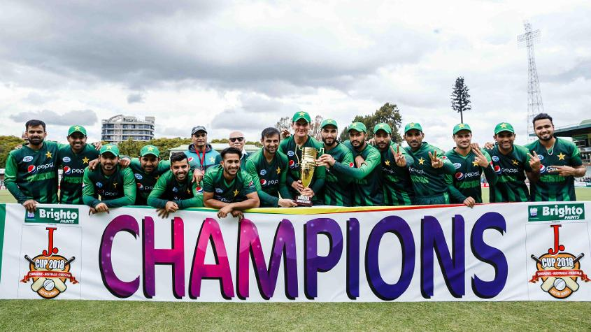 The series win helped Pakistan build an eight-point lead at the top of the table, with Australia slipping to No.3