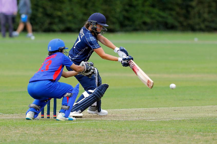 Kathryn Bryce's unbeaten 39 was instrumental in her side's fightback with the bat