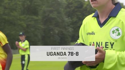 WT20Q: Ireland v Uganda match highlights