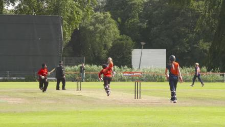 WT20Q: Lovely hit! PNG get one away for four