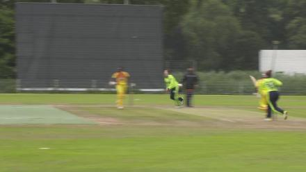 WT20Q: Composed high catch as Ireland take another Ugandan wicket