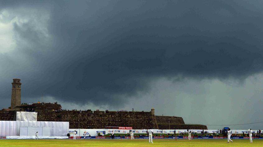 In July, rain is never too far away in Galle