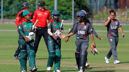 Bangladesh win over UAE, 11th Match, Group A, ICC Women's World Twenty20 Qualifier at Utrecht, Jul 10th 2018.