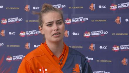 WT20Q: Netherlands v PNG post-match interview