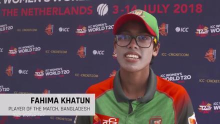 WT20Q: Interview with Fahima Khatun