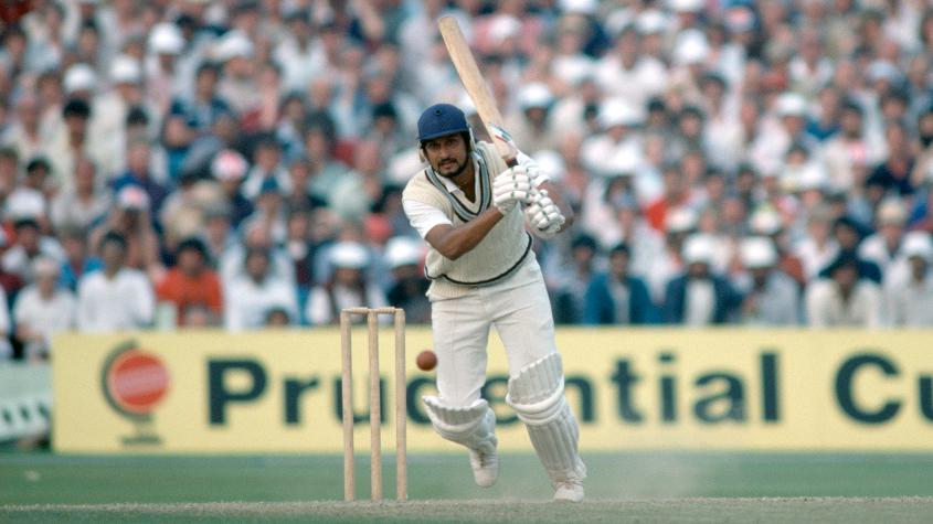 Sandeep Patil made an unbeaten fifty