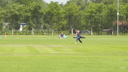 WT20Q: Nifty run-out from the Netherlands against Uganda!