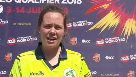 WT20Q: Laura Delany delighted after Ireland win!