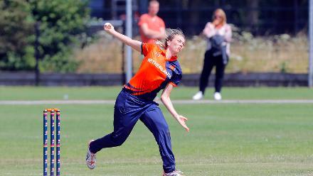1st Play-off Semi-Final, ICC Women's World Twenty20 Qualifier at Utrecht, Jul 12th 2018.
