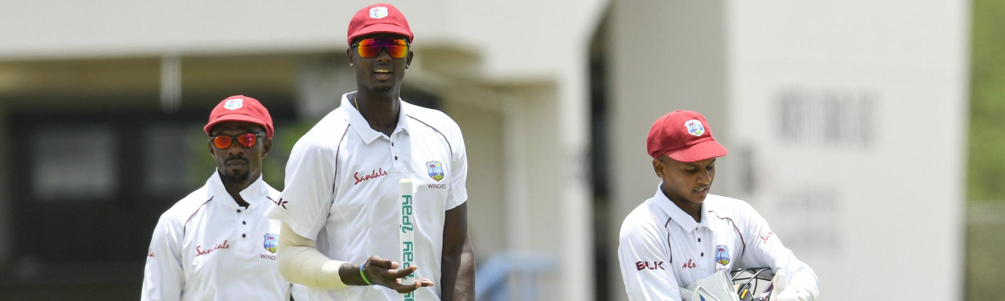 It was a comfortable victory for the Windies in the first Test