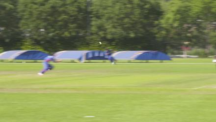 WT20Q: Sharp diving catch for Thailand against UAE