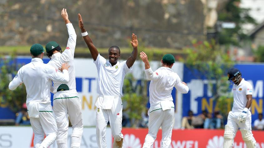Kagiso Rabada was the most impressive of South Africa bowlers, picking up four wickets