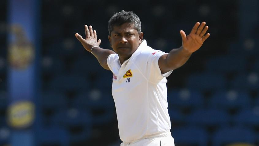 Rangana Herath dismissed Aiden Markram towards the end of the day