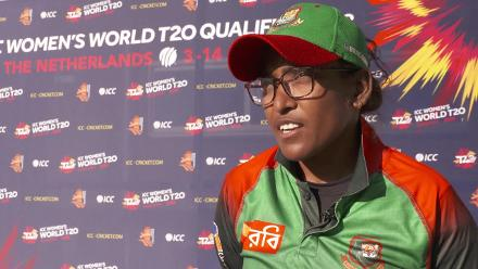 WT20Q: Rumana Ahmed speaks after Bangladesh seal their place in the WT20