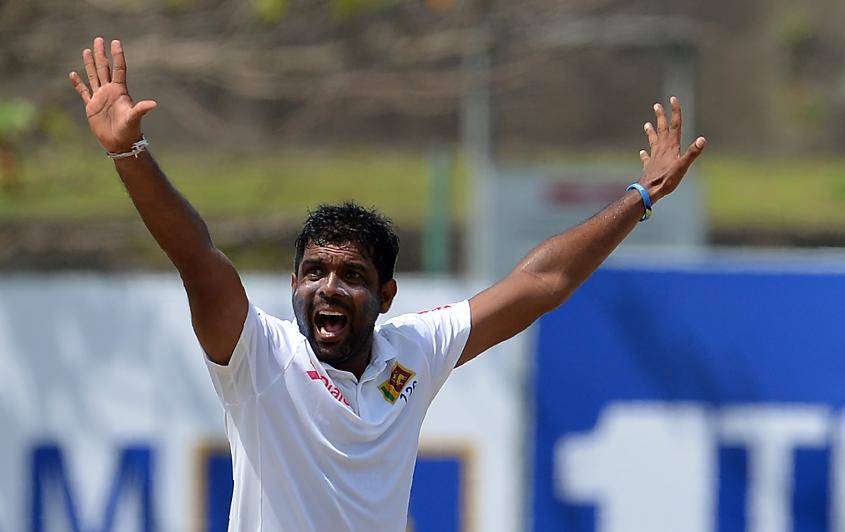 Dilruwan Perera was the pick of the Sri Lankan bowlers picking up four wickets