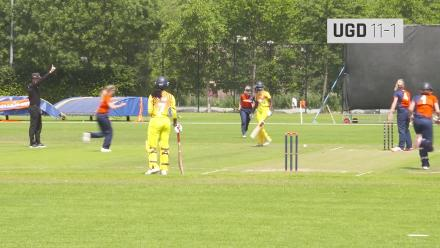 WT20Q: Netherlands v Uganda extended highlights