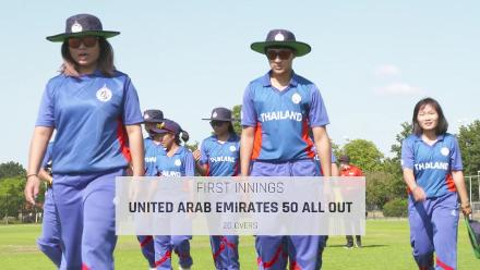 WT20Q: UAE v Thailand highlights