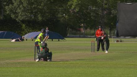 WT20Q: Isobel Joyce bowled around her legs