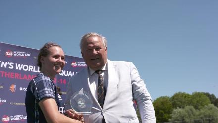 WT20Q: Scotland v PNG – Sarah Bryce and Kathryn Bryce post-match interview