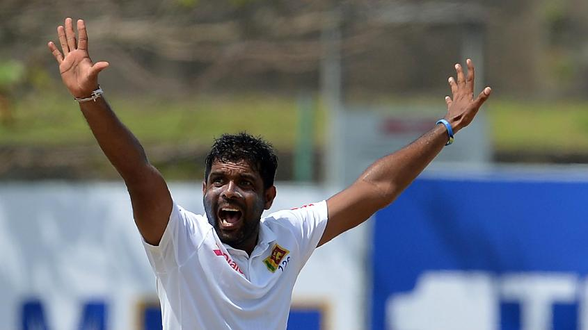 Dilruwan Perera was the most successful of the Sri Lankan bowlers