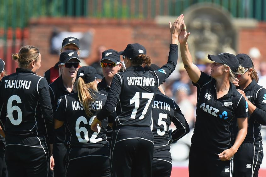 New Zealand still lead the Women's Championship table with 12 points from as many matches