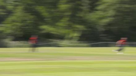 WT20Q: Netherlands v UAE –  UAE batter hits a brilliant boundary