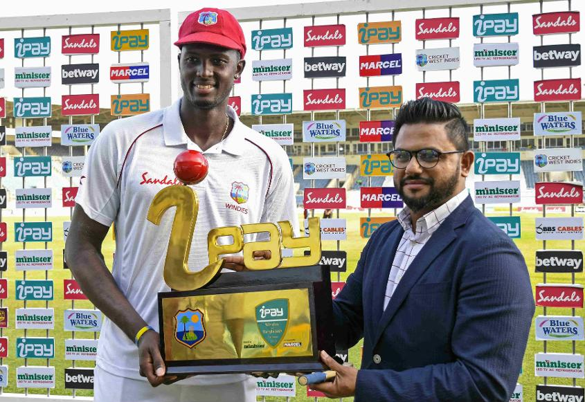 Jason Holder returned his Test-best innings and match figures at Sabina Park