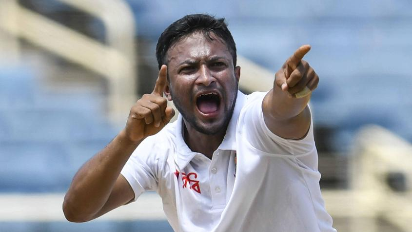 Shakib Al Hasan did well with ball and bat, but found little support from his teammates