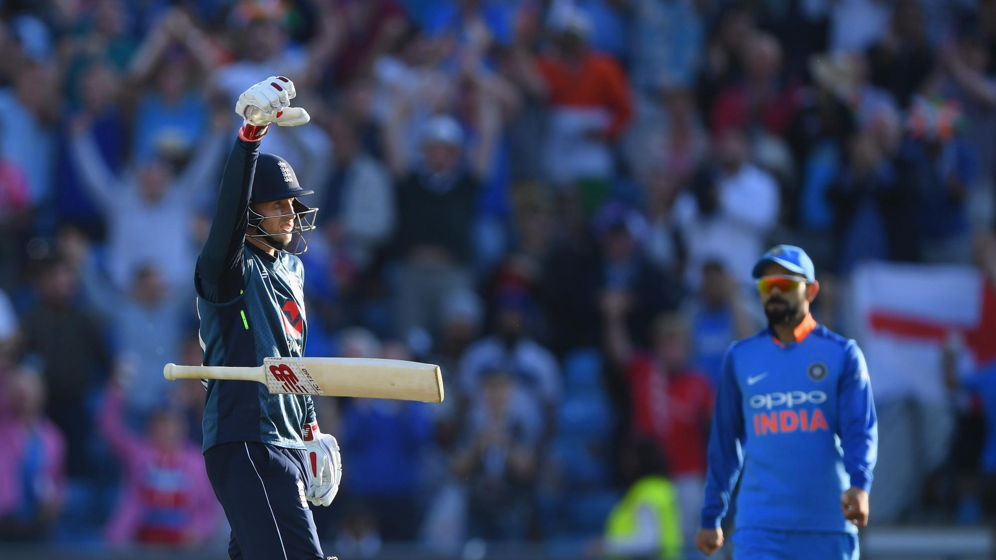 'Most embarrassing thing I've done' – Joe Root on mic-drop celebration