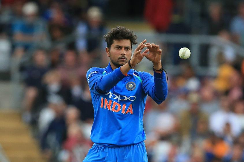 Kuldeep Yadav, India's left-arm wrist-spinner, took nine wickets in the series against England