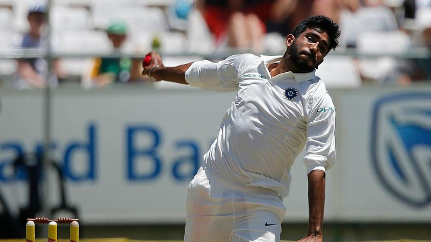 Jasprit Bumrah will be available for selection from the second Test onwards
