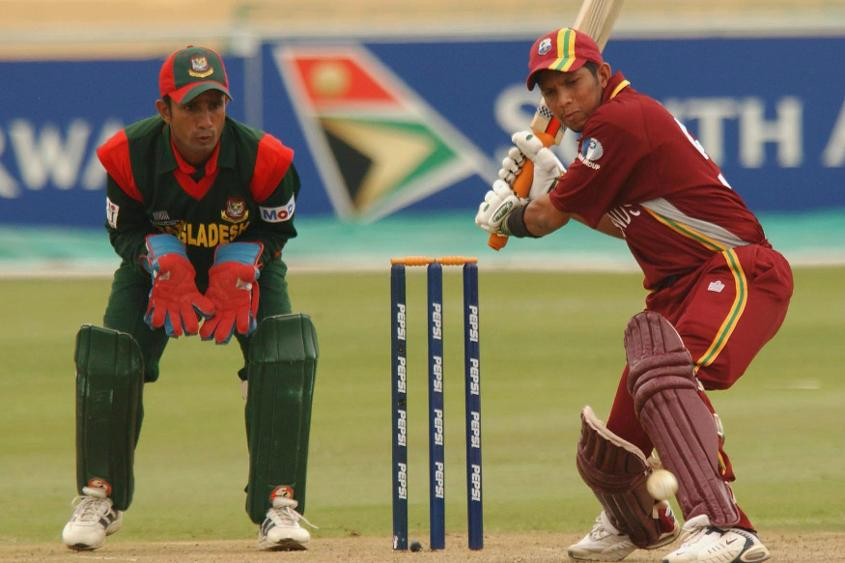 Batting first, a half-century from Ricardo Powell and Carl Hooper's 45 lifted the Windies to 244/9