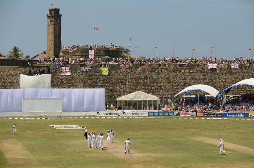 Galle International Stadium makes for a picturesque cricket venue