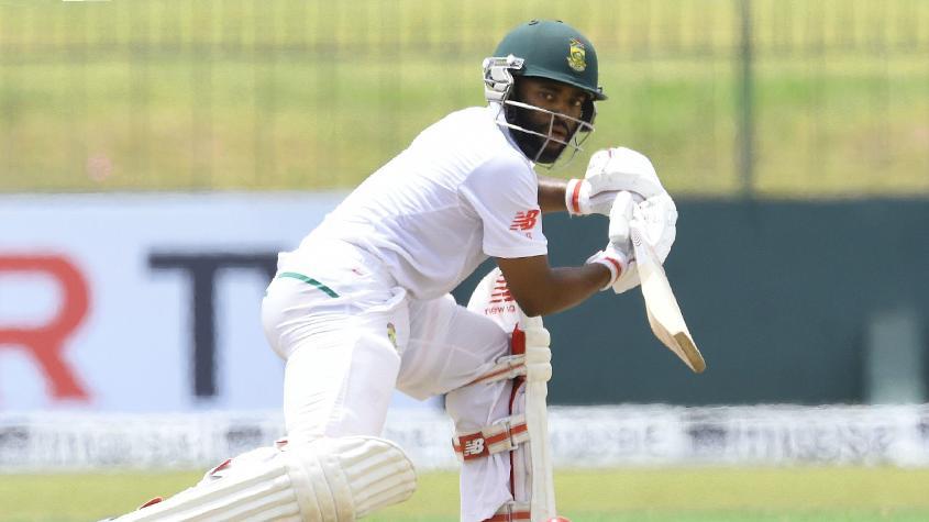 Temba Bavuma registered a half-century and added 123 runs with de Bruyn