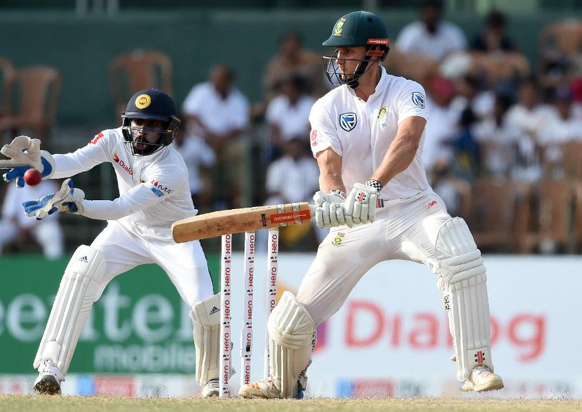 Theunis de Bruyn is unbeaten on 45, and South Africa will hope for him to bat long on the fourth day