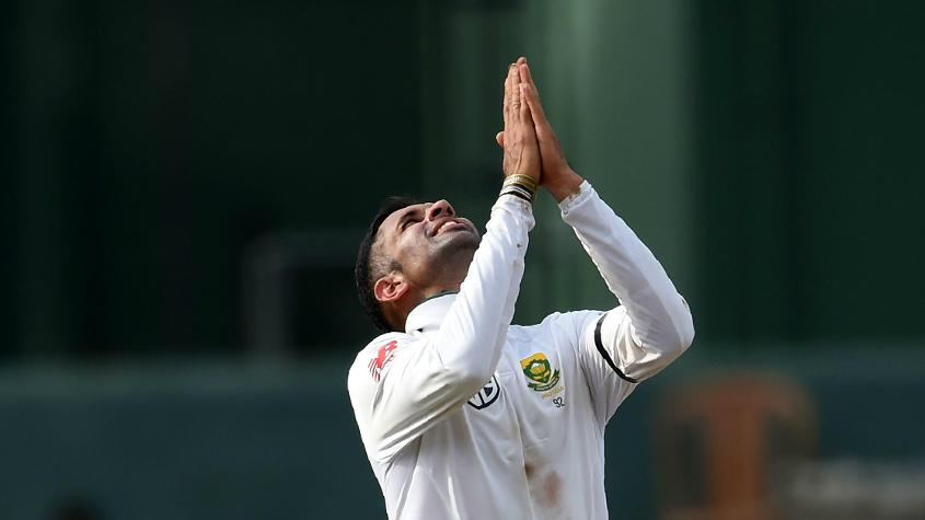 Keshav Maharaj jumped five places to the 18th spot in the bowlers' rankings
