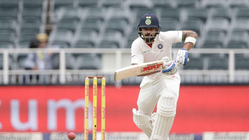 Virat Kohli scored 68 on the first day of the warm-up tie against Essex