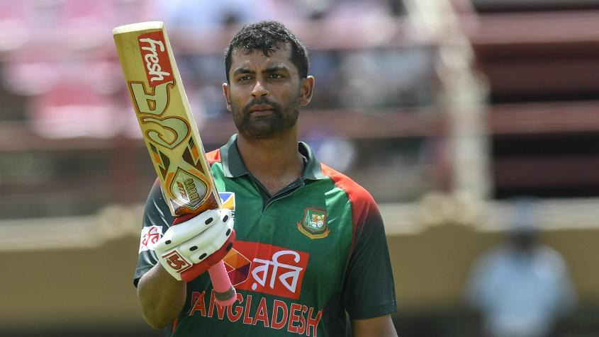 Tamim Iqbal has scored a century and a half-century so far in the series