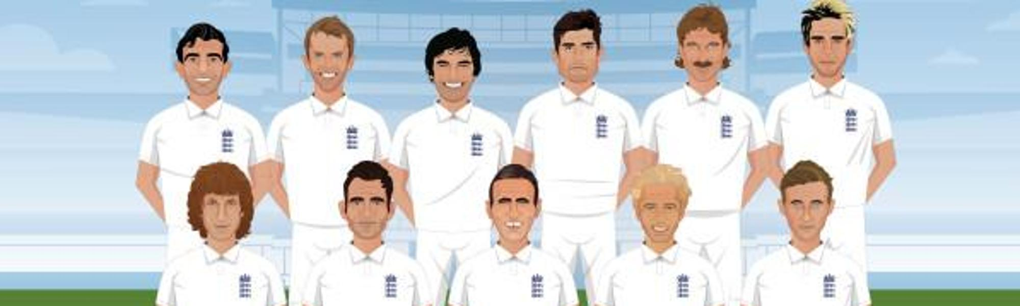 England S Greatest Test Xi Revealed