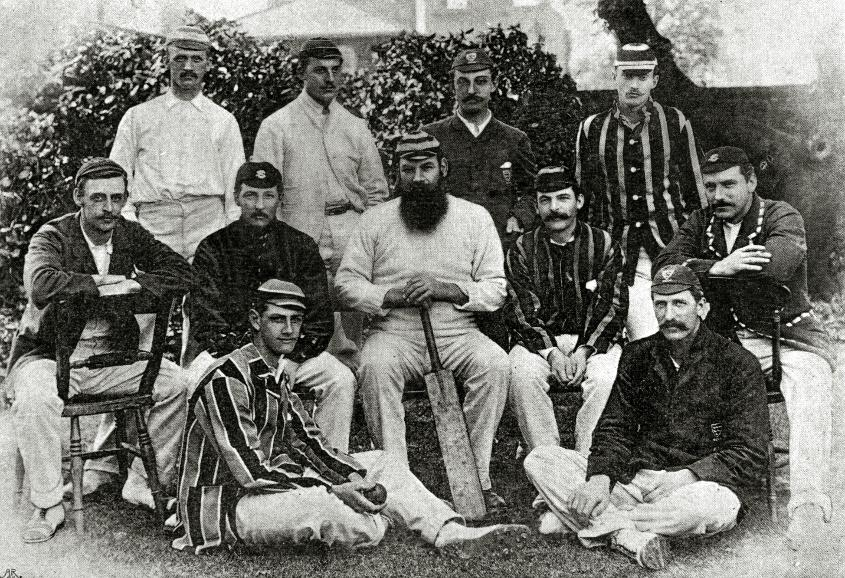 Front and centre – WG Grace, England's first centurion
