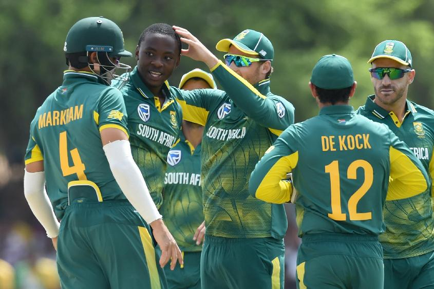 Rabada finished with figures of 4/41 in the first ODI against Sri Lanka