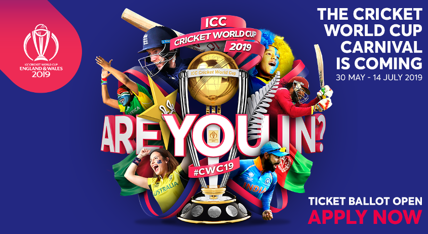 CWC19 Public Ballot is open!