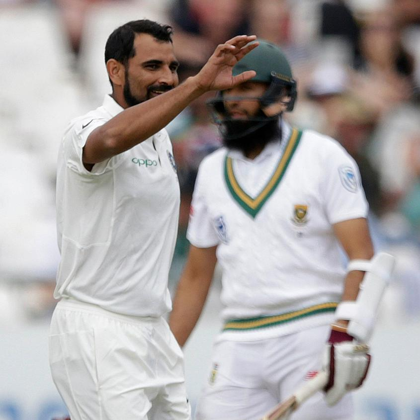 Mohammed Shami had a good time on the South African pitches earlier this year