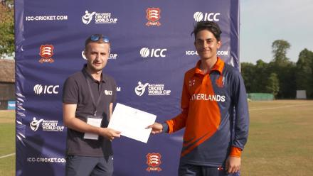 U19CWCQ Europe Div 2: Interviews with the Netherlands players