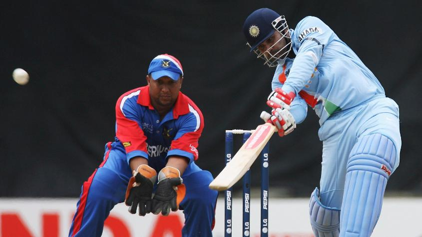 CWC 2007: India put up 413/5 against Bermuda